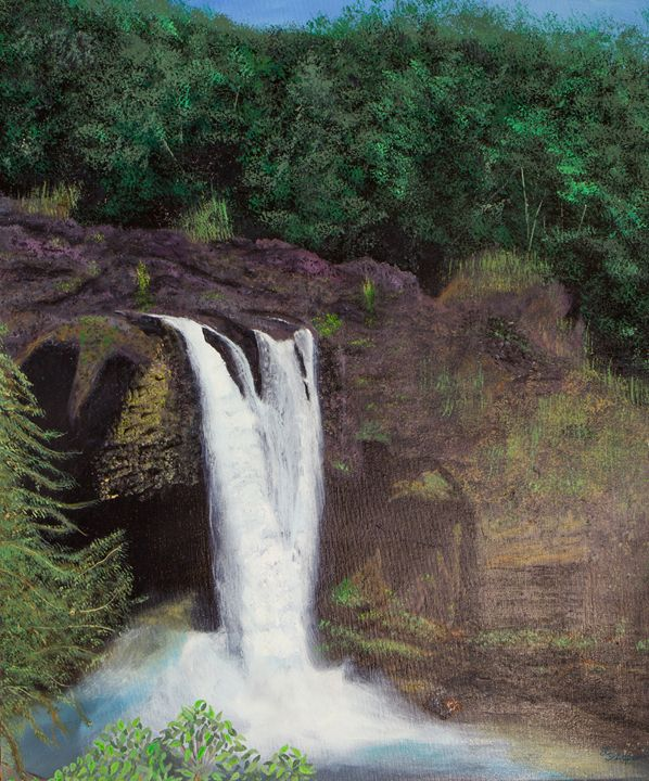 Maui Waterfall - Schaper's Gallery