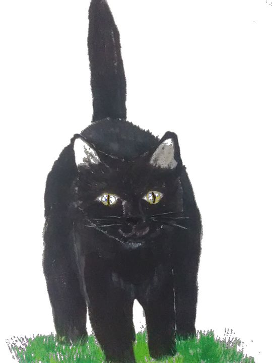 Happy Cat - ART