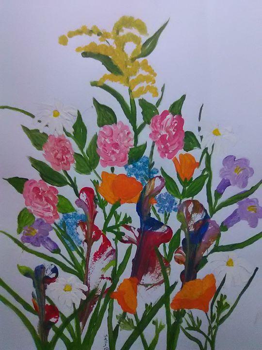 Art Paintings Prints Flowers