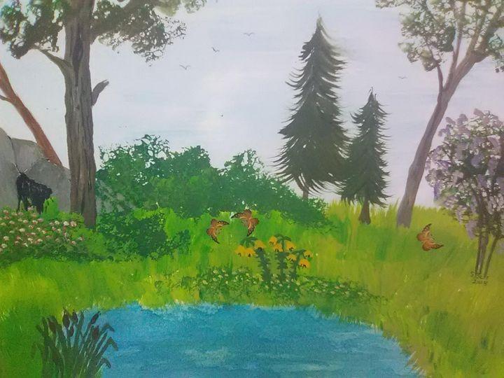Land of Butterfly's - ART