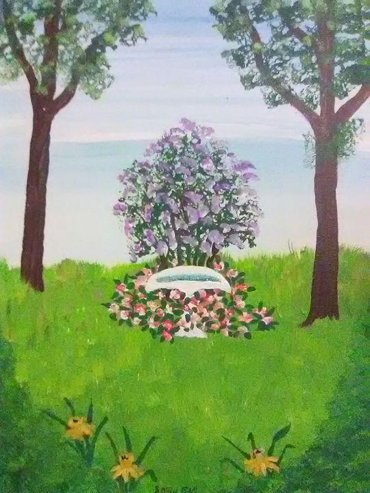 Flower garden - ART