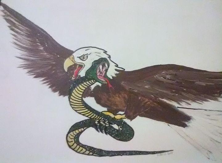 Eagles meal - ART