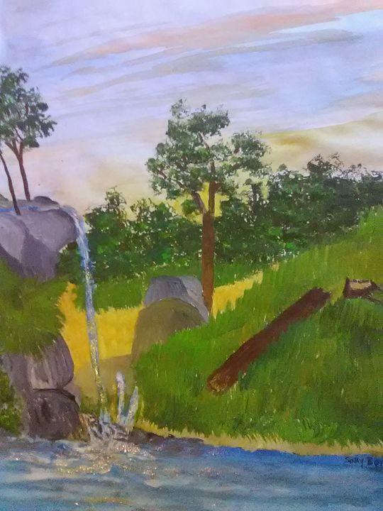 waterfall - ART