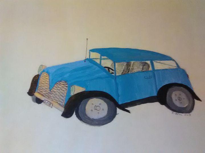 old car - ART