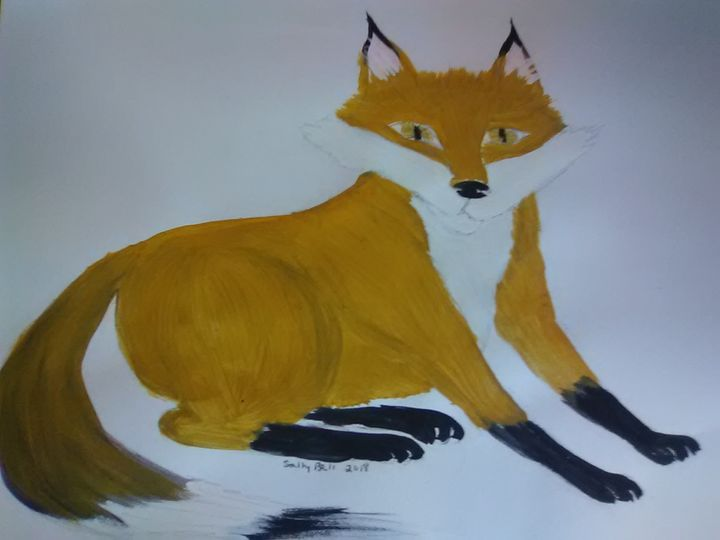 Fox on alert - ART