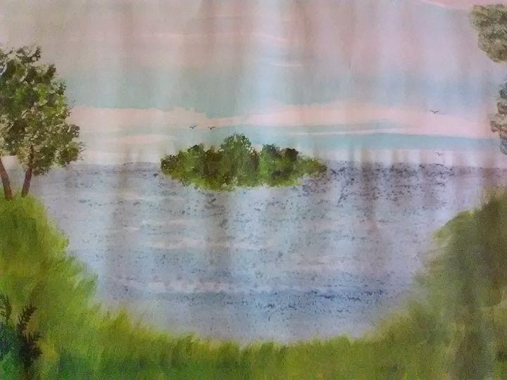 Island on the lake - ART