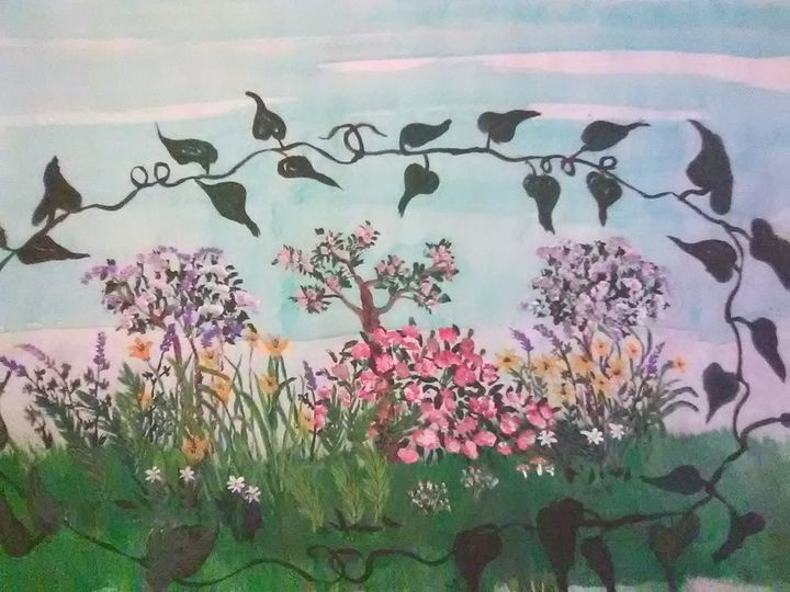 Flowery garden - ART