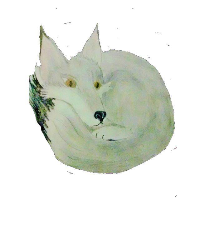 Relaxing Fox - ART