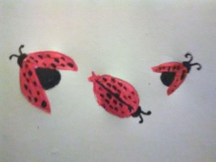 3 Ladybugs - ART