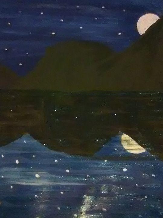 Moons reflection - ART