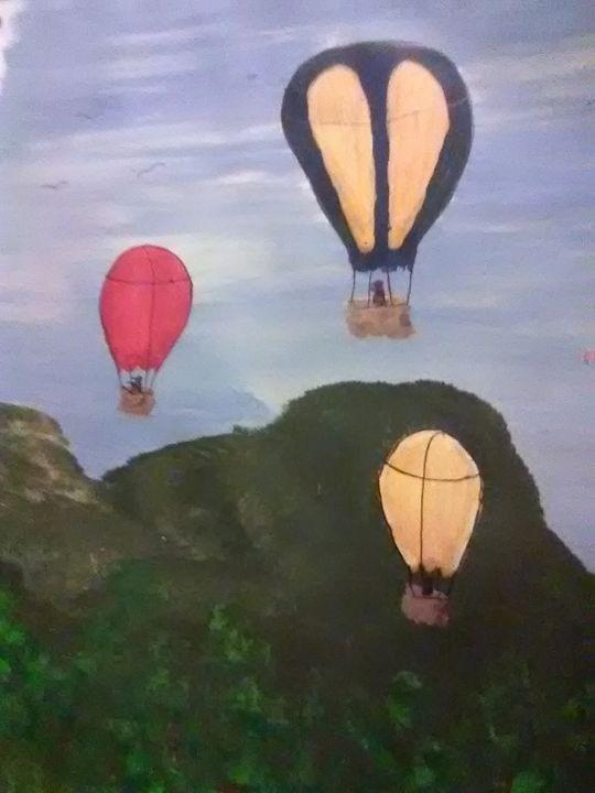 Balloons sky high - ART