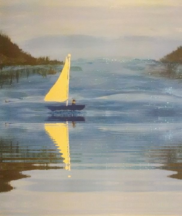 Sailing on the water - ART