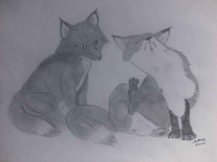 Fox Pair - ART