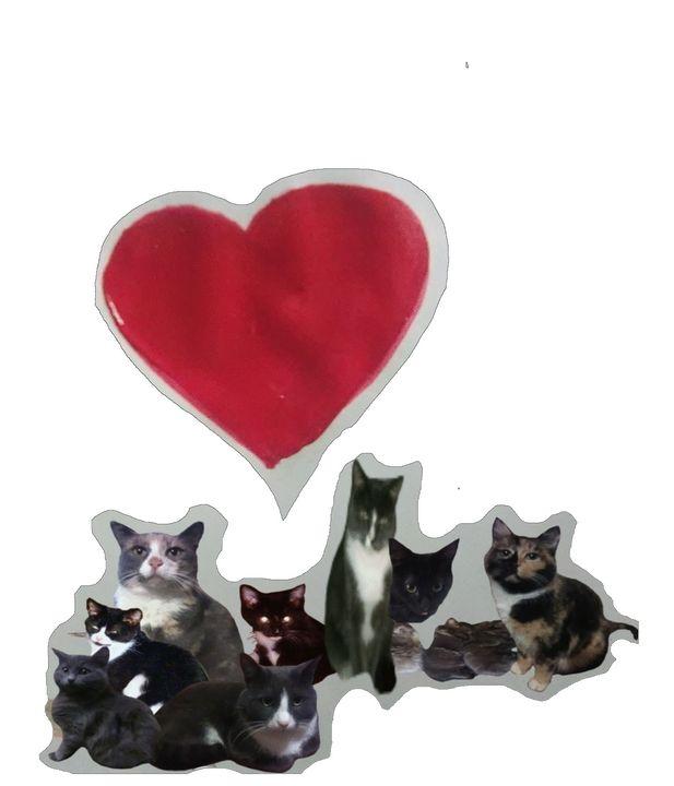 I Love cats - ART