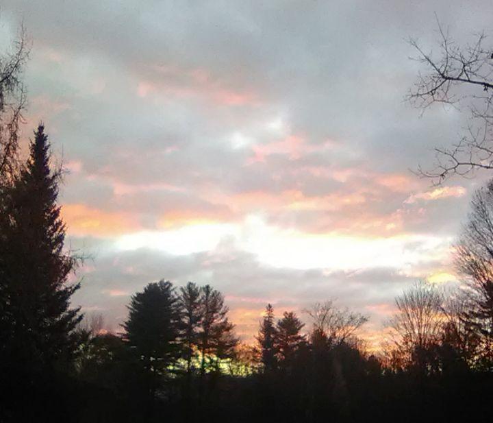 Pink clouds - ART