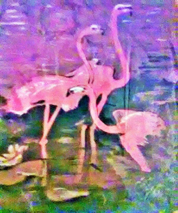 3 Flamingos - ART