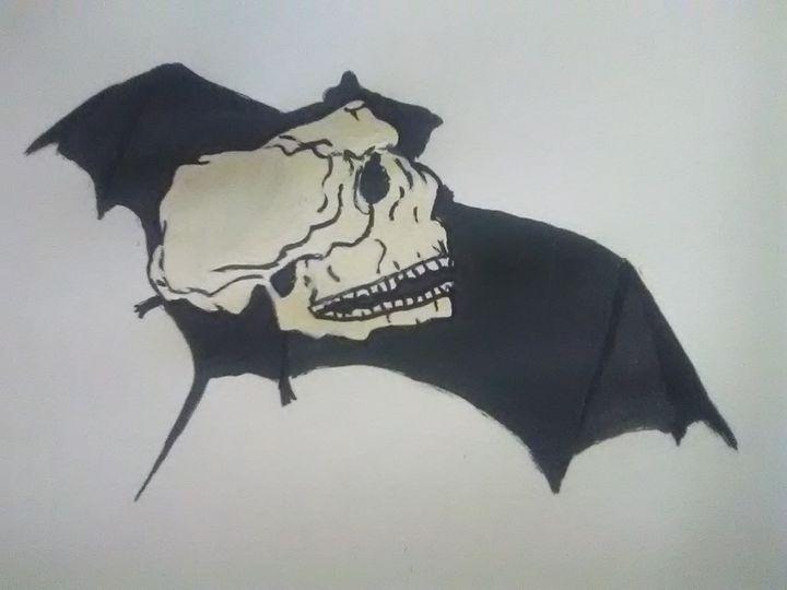 Bat n Skull - ART