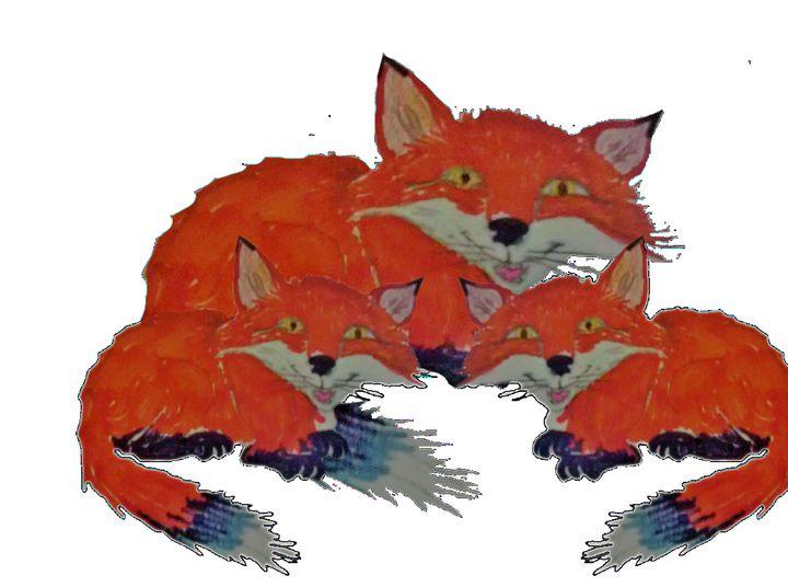 3 Red Fox - ART