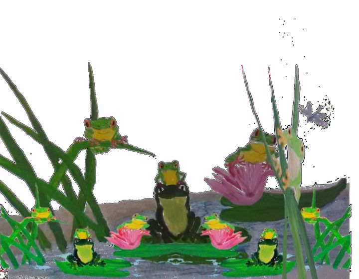 Frogs - ART