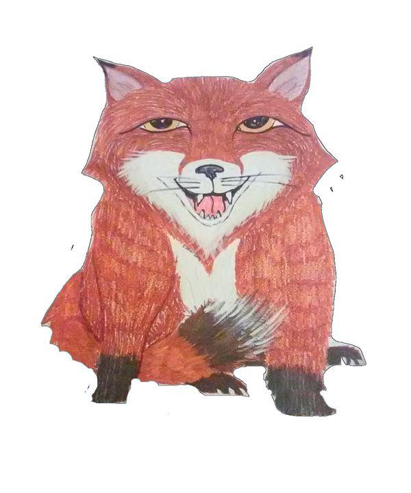 a fox - ART