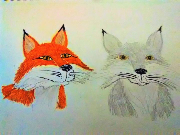 2 fox - ART