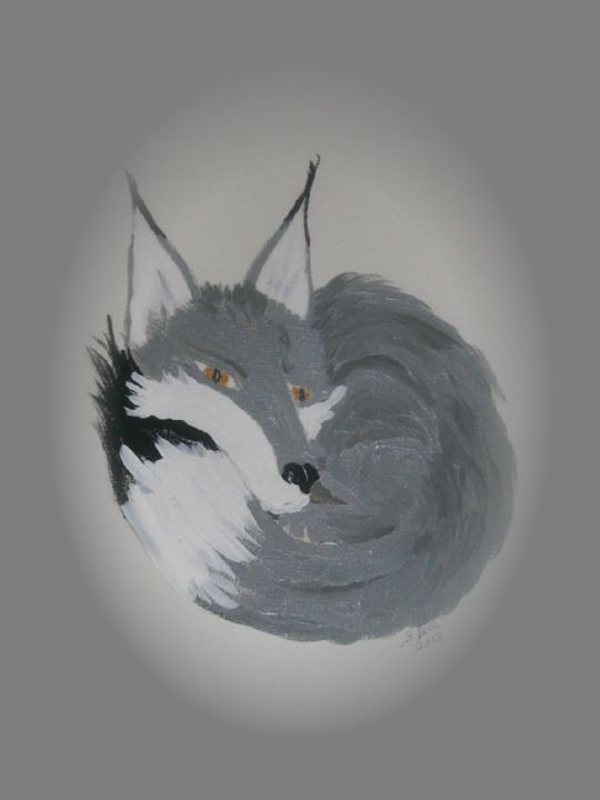 grey fox - ART