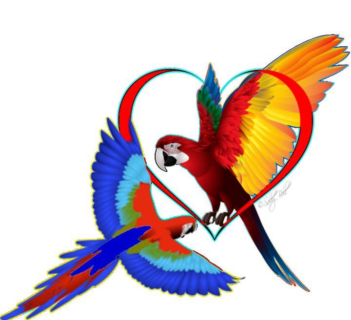 Macaw love - ART