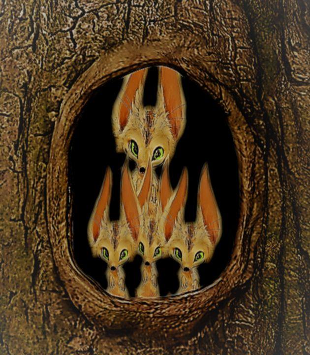 Creatures in the wood - ART