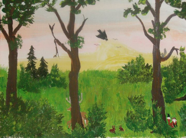 the woods - ART