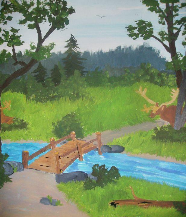 across the river - ART