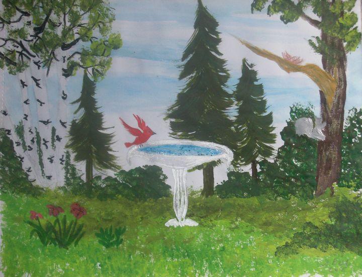 birdbath - ART