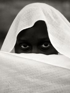 through veils