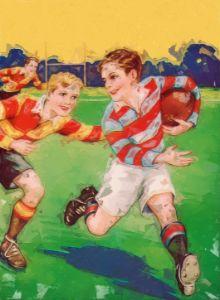 Junior Rugby - Paintings
