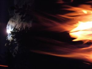Flaming Moon