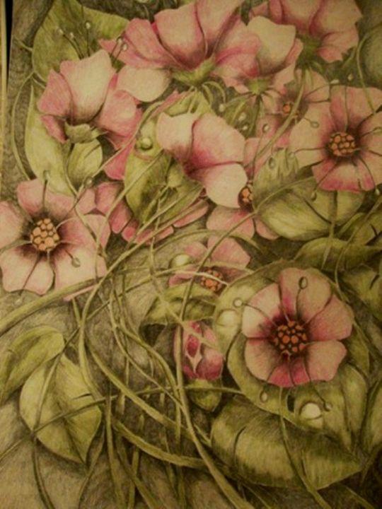 Fantasy flower - Sonja Brzak/ArsSonniya