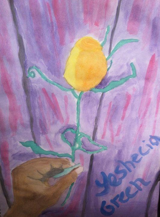Yellow rose - Beautiful designs