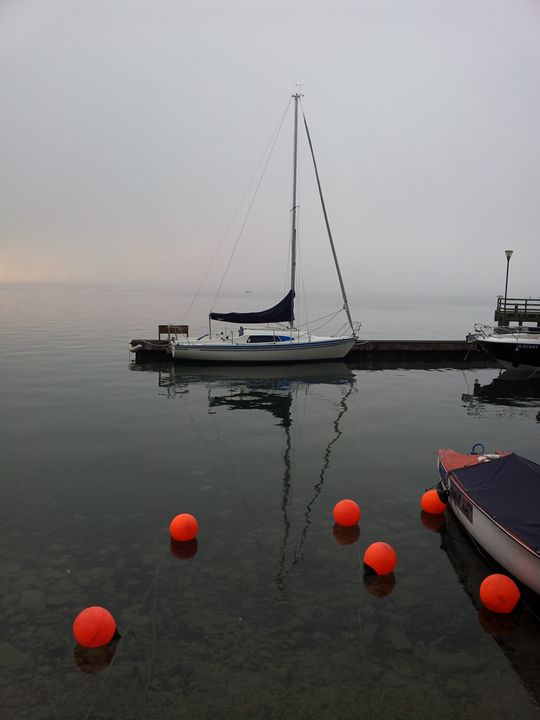 Lakeside sailboat - ttineff