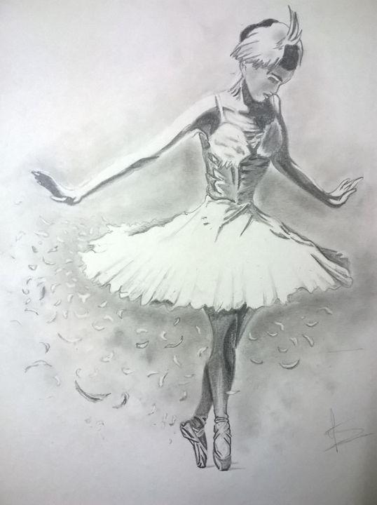 Ballerina_1 - Pencil Sketches