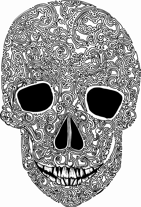 unique skull - Nel Designs