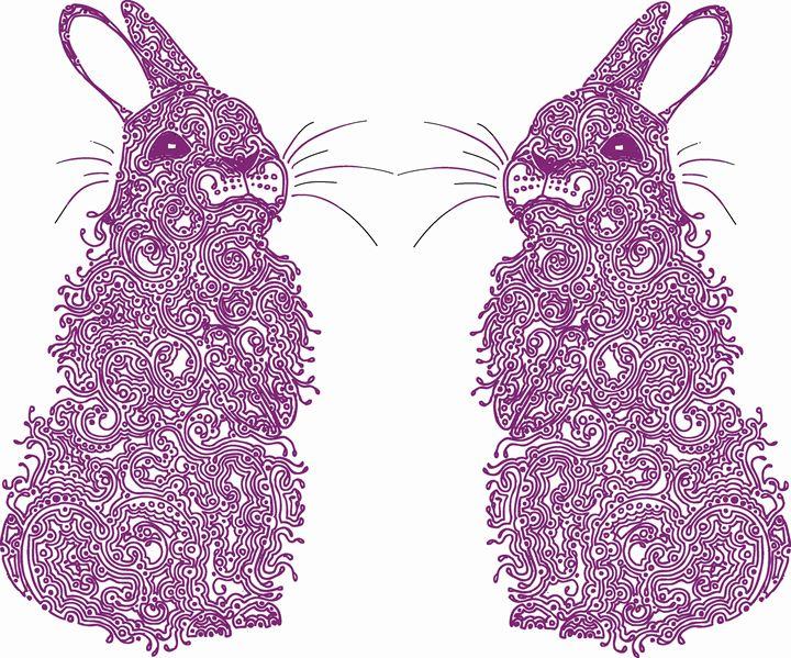 Pink Bunnies - Nel Designs