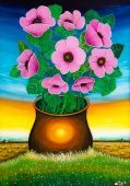 poppies in a cup - Zaga