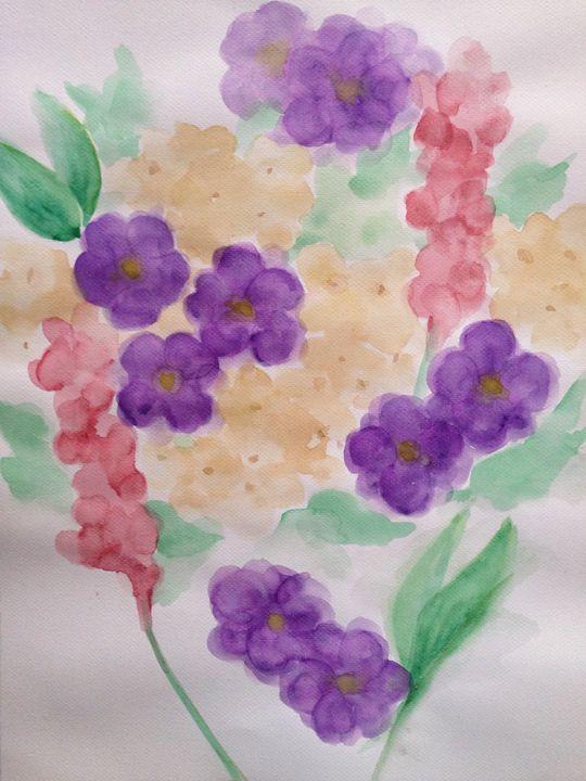 01 Watercolor - Mikaela Benipayo