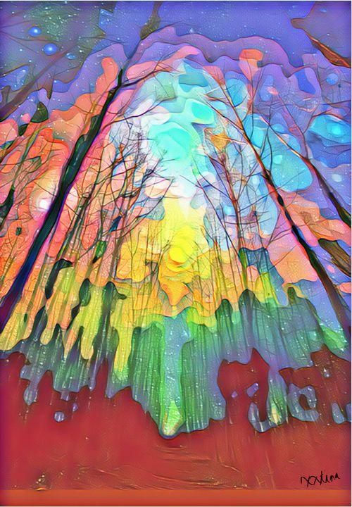 Fairy Forest - xxtinastudio - Artwork by Christina Rick