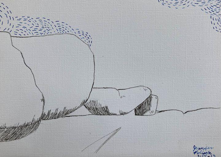 Elephant Rocks - PollockArt