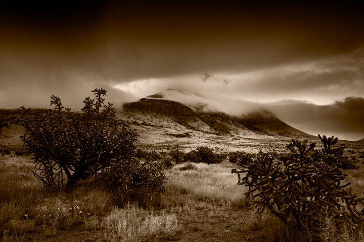 Morning Fog on Blue Mountain - David Kachel