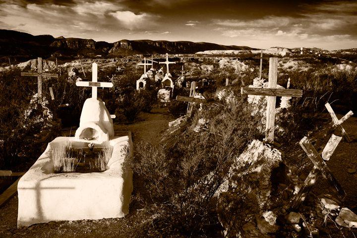 Sunrise Terlingua Cemetery - David Kachel