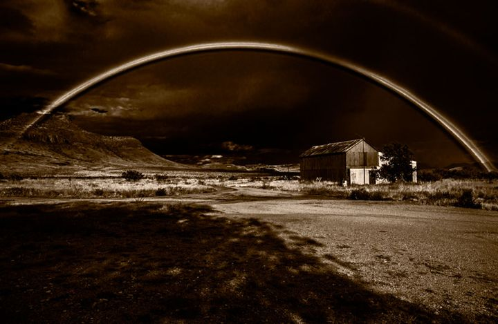 Rainbow & Shadows - David Kachel