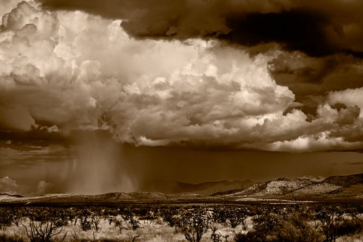 Cloudburst East of Alpine - David Kachel