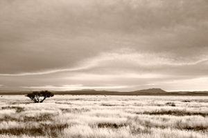 Evening Sky Fort Davis