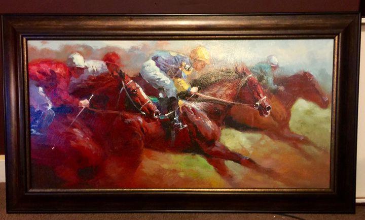 """Mexican Horseback"" - Art By Micah"